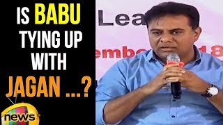KTR Straight Comments to AP CM Chandrababu Naidu | KTR Says Chandrababu Wont Won By His Party - MANGONEWS
