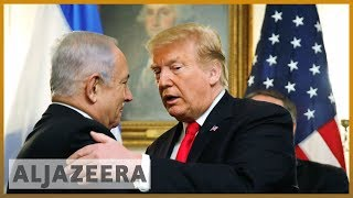🇺🇸 🇮🇱 Analysis: Trump breaking international law with Golan Heights decree l Al Jazeera English - ALJAZEERAENGLISH