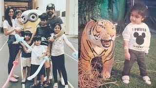 Allu Arjun Daughter Arha And Son Ayaan Cute And Latest Unseen Photos | Allu Arjun Family - RAJSHRITELUGU