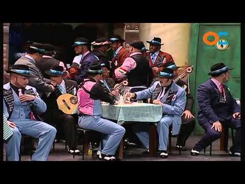 Sesión de Preliminares, la agrupación La trattoria actúa hoy en la modalidad de Coros.