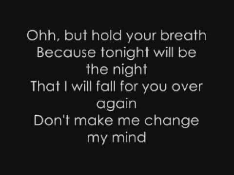 Fall For You Lyrics Secondhand Serenade 