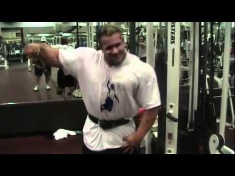 jay cutler training shoulder 25.07.2010 bodybuilding motivation video