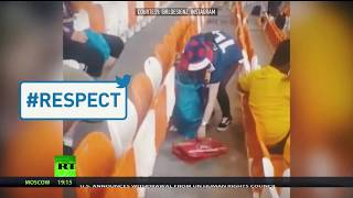 #Respect: Japan & Senegal fans clean stadium after their teams' World Cup matches - RUSSIATODAY