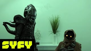 SYFY LIVE FROM COMIC-CON | Office Cold Open | SYFY - SYFY