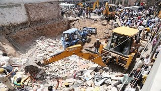Building collapses in Jodhpur, several feared trapped - TIMESOFINDIACHANNEL