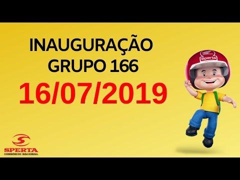 Sperta Consórcio - Inauguração Grupo 166 - 16/07/2019