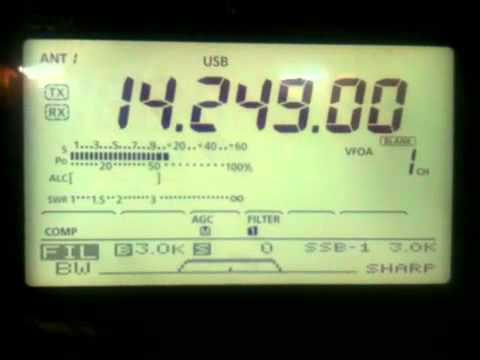 Icom IC-7410 and Bose