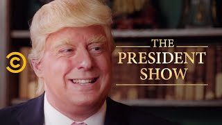 The President's Fitness Test - The President Show - COMEDYCENTRAL