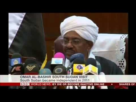 BBC's Mary Harper on President al Bashir's first visit to South Sudan since independence