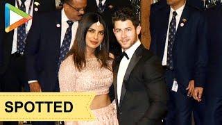 Newly Weds Priyanka Chopra & Nick Jonas grace Isha Ambani & Anand Piramal's Wedding - HUNGAMA