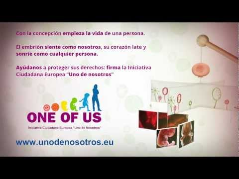 Firma la iniciativa: Uno de nosotros / One of Us