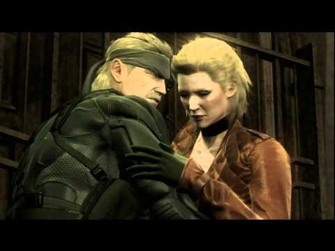 Metal Gear Solid 4 HD Walkthrough (No Kill & Alert) Act3 Part34-35 D
