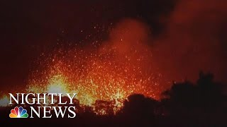 Fissures From Hawaii Volcano Pose New Threat | NBC Nightly News - NBCNEWS