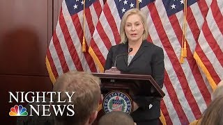 Democrats Rally Behind Gillibrand After Donald Trump's 'Sexist Smear' On Twitter | NBC Nightly News - NBCNEWS