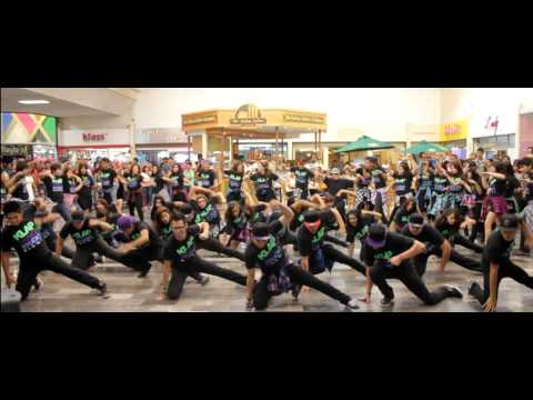 "Timbaland ""Hands in the air"" Flash Mob"