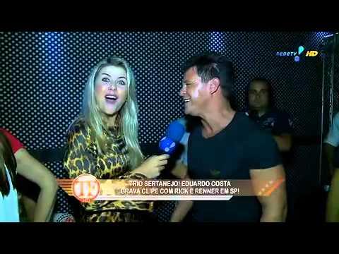 TV Fama: Eduardo Costa explica fim do romance com Helen Ganzarolli
