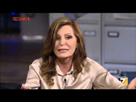 """Video: Santanchè e il ditino di Landini """"Se lo metta nel…"""""""