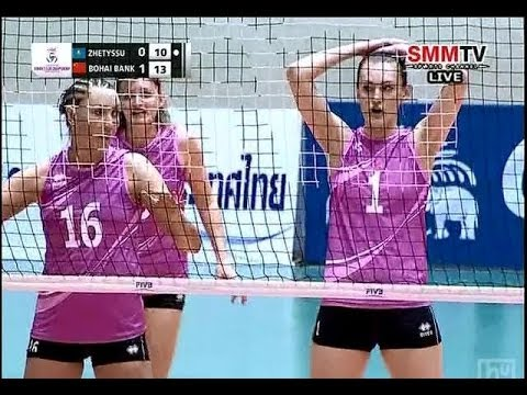 Zhetyssu(KAZ) - Bohai Bank Tainjin(CHN) Asian Women's Club Volleyball Championship 2014