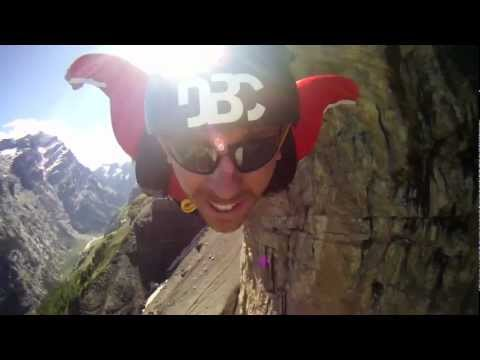 NPR - Science Friday   The Science of Wingsuit BASE Jumping   Luke Hively