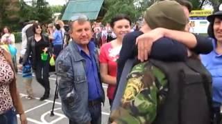 Спецназ в\ч 3041 г. Славутич вернулся из АТО под Славянском