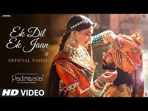 Film-Padmavati | New Track |   Ek Dil Ek Jaan| Ffeaturing Deepika Padukone and Shahid Kapoor
