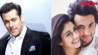 Salman Wants To Invite Aayush & Warina As Special Guests On The Show 'Bigg Boss 12' | Bollywood New - ZOOMDEKHO