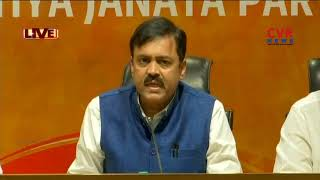 BJP GVL Narasimha Rao Comments On TDP Govt Over AP CM Against BJP | CVR News - CVRNEWSOFFICIAL