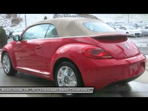 2014 VOLKSWAGEN BEETLE CONVERTIBLE Huntington, WV V14034