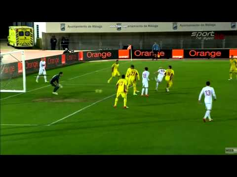 Piękna bramka Daniela Łukasika w meczu z Rumunią