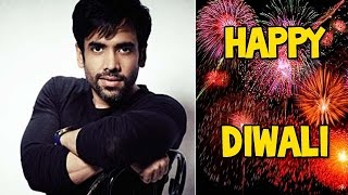 Tusshar Kapoor rapid fire round on Diwali! - EXCLUSIVE