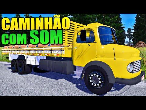 Caminhão com Som - Euro Truck Simulator 2