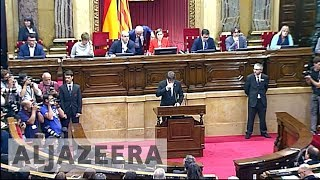 Spain prepares to suspend Catalonia's autonomy over secession bid - ALJAZEERAENGLISH