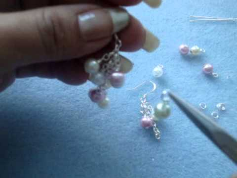 Aretes de Perelas - Easter color .47