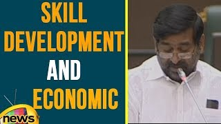 Jagadish Reddy about Skill Development and Econamic Supports in TS Assembly | ABN Telugu - MANGONEWS