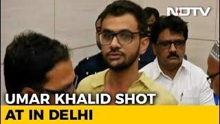 JNU Student Umar Khalid Shot At In High-Security Zone In Delhi, Unhurt - NDTV