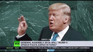 What to expect from Trump's 2018 United Nations speech? - RUSSIATODAY
