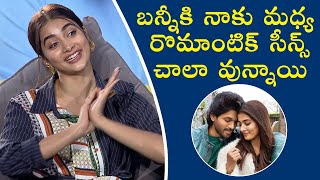 Pooja Hegde About Romantics Scenes In Ala Vaikunta Puram Lo Movie | Pooja Hegde Interview - TFPC