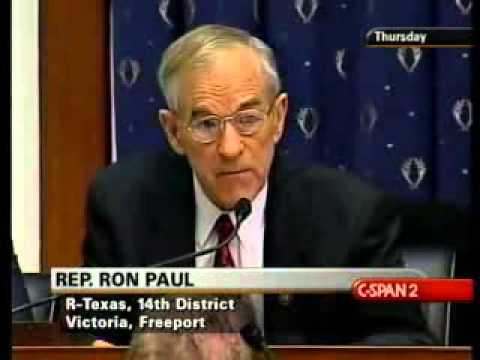 Ron Paul vs the Federal Reserve