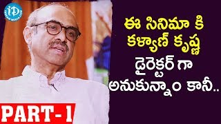 Venky Mama Producer Suresh Babu Full Interview Part - #1 || Talking Movies With iDream - IDREAMMOVIES