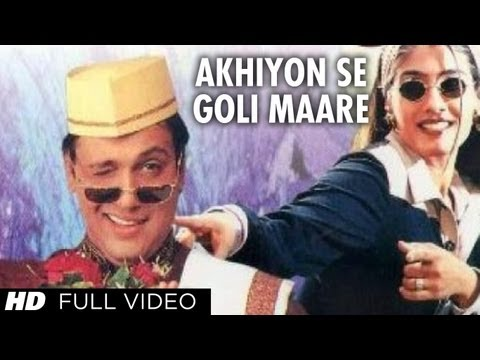 Akhiyon Se Goli Maare Full Song | Dulhe Raja | Raveena Tandon, Govinda