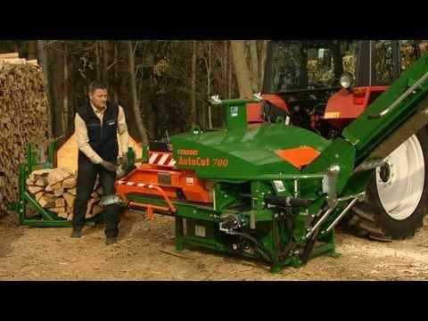 Automatyczna piła do drewna AutoCut 700 C/C Posch