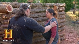 Mountain Men: Jason and Mary Experience Labor Pains (Season 7, Episode 1) | History - HISTORYCHANNEL