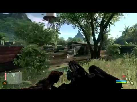 Crysis Жесть 2 обзор 720P maxed out review HD part1
