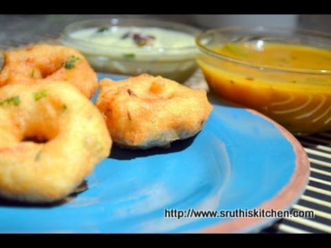 Medu Vada - South Indian Breakfast Recipe
