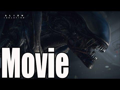 Alien Isolation - All Cutscenes (Game Movie)