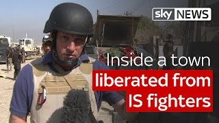 The battle for Mosul: Inside a town liberated from IS fighters - SKYNEWS