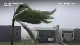 Hurricane Maria brings extreme wind and rain to Puerto Rico - WASHINGTONPOST