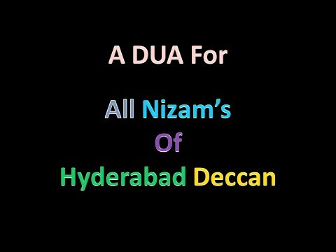 Hyderabadi Dua For All Nizam's