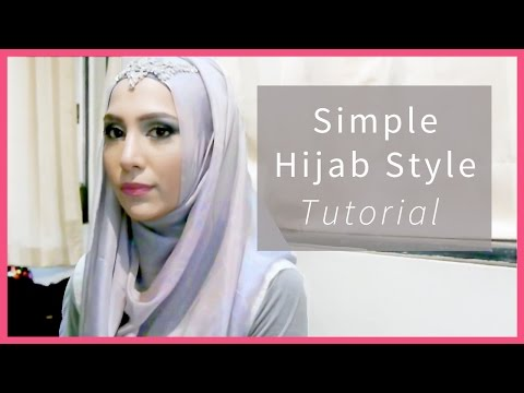 EASY HIJAB TUTORIAL IN 3 STEPS! FOR SCHOOL, WORK, FORMAL... | Amenakin