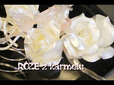 Róża z karmelu krok po kroku - Kotlet.TV